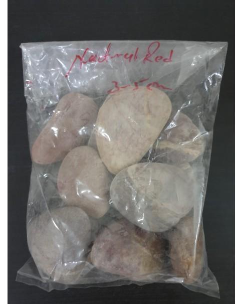 Natural Red Stones 3 - 5 CM - 20 KG Bag