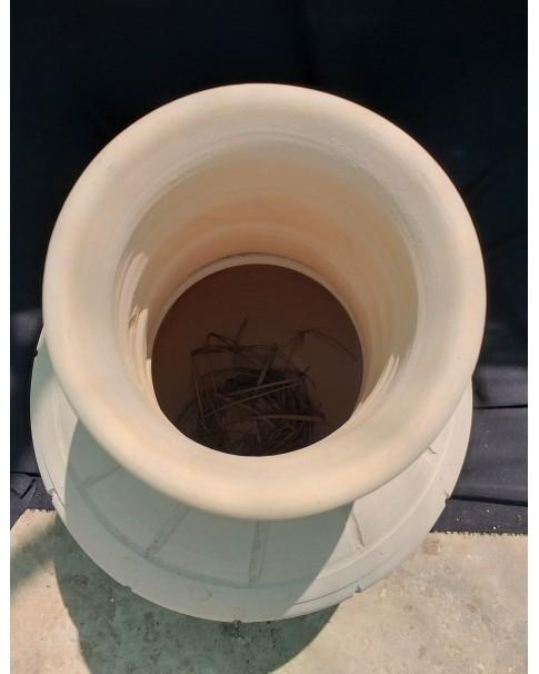 Clay Pot Narrow Top 75 CM Ht