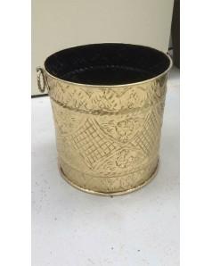 Golden steel pot