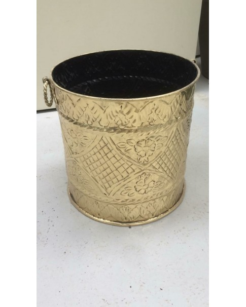 Golden steel pot