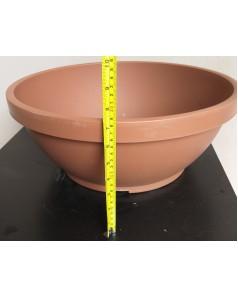 Plastic Pot - Wide | 6 Inch Ht, 18 Inch Dia