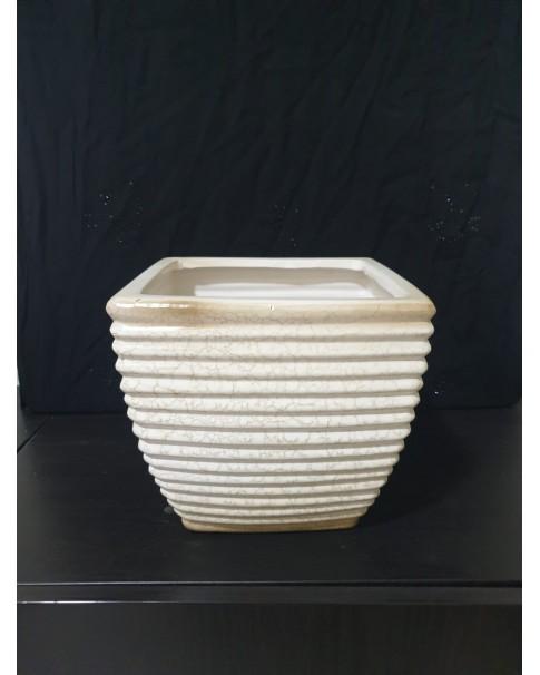 Square Pot. Ceramic