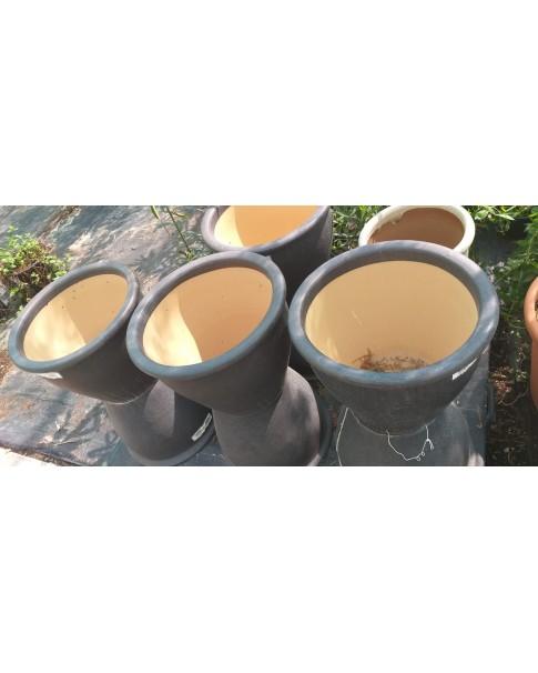Cement Pot - Round Type. 55 QR /ea