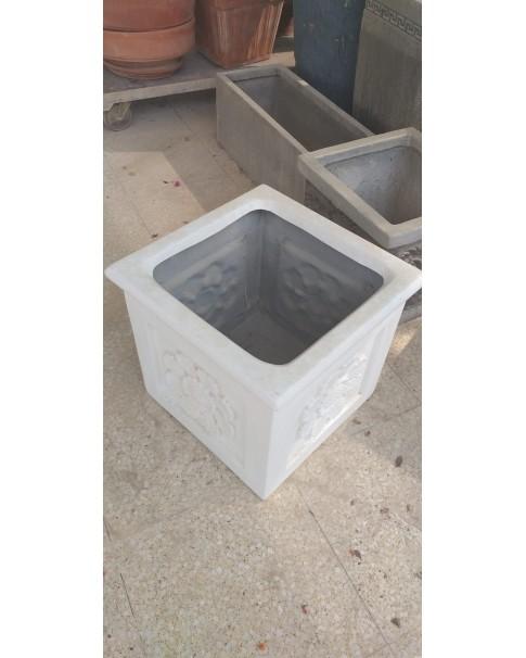Fiberglass Square Pot