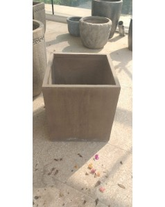 Cement Pot- Square