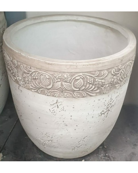 fibre clay Pot 40 cm height